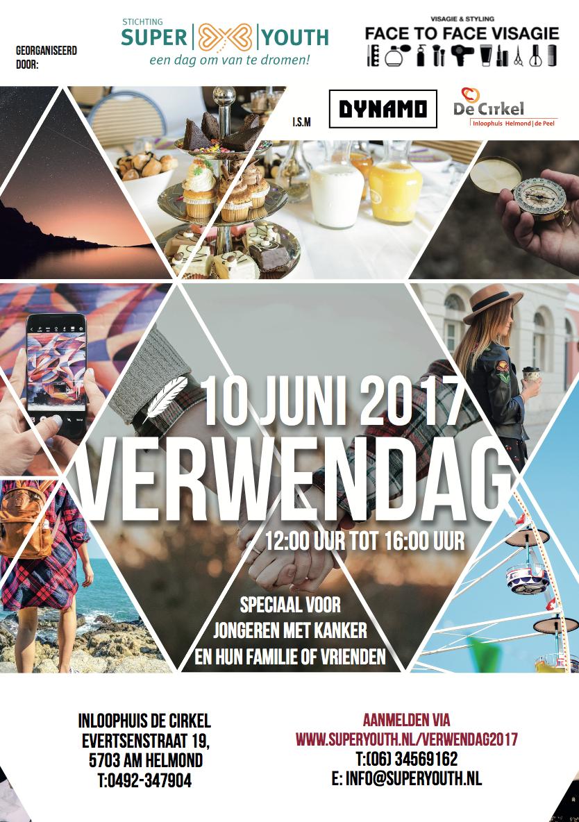 Superyouth organiseert verwendag voor jongeren met kanker in Helmond